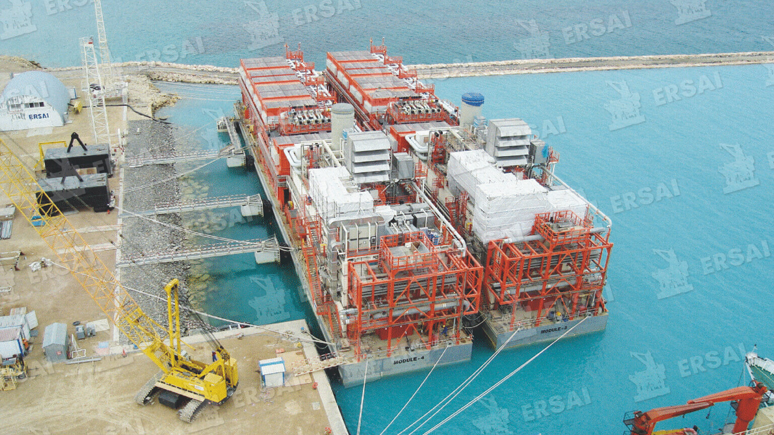 "Kashagan Hook up & Commissioning of Complex ""D & A"" offshore facilities"