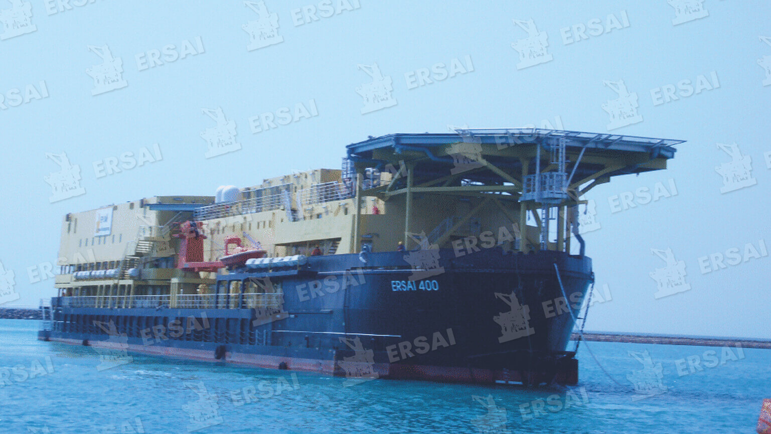 Arrival of ERSAI 400 to ERSAI Yard